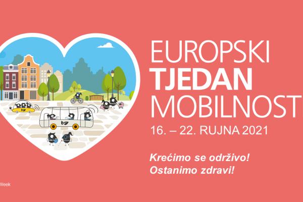 Obilježavanje Europskog tjedna mobilnosti: Održiva mobilnost za zdraviji život!