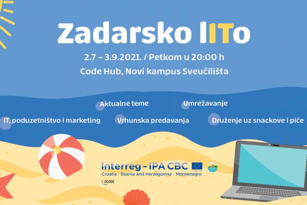"""""""Zadarsko LITo"""" - serija inspirativnih predavanja iz područja IT-a, poduzetništva i marketinga"""